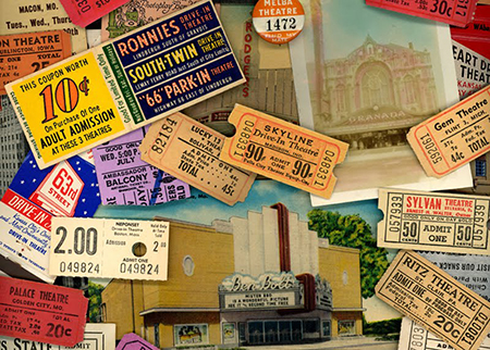 Old Movie Tickets(NEW)