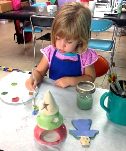 Paint Your Own Pottery Art Birthday Party: Pottery Works