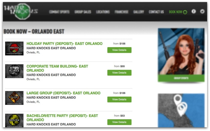 Online Booking For Paintball